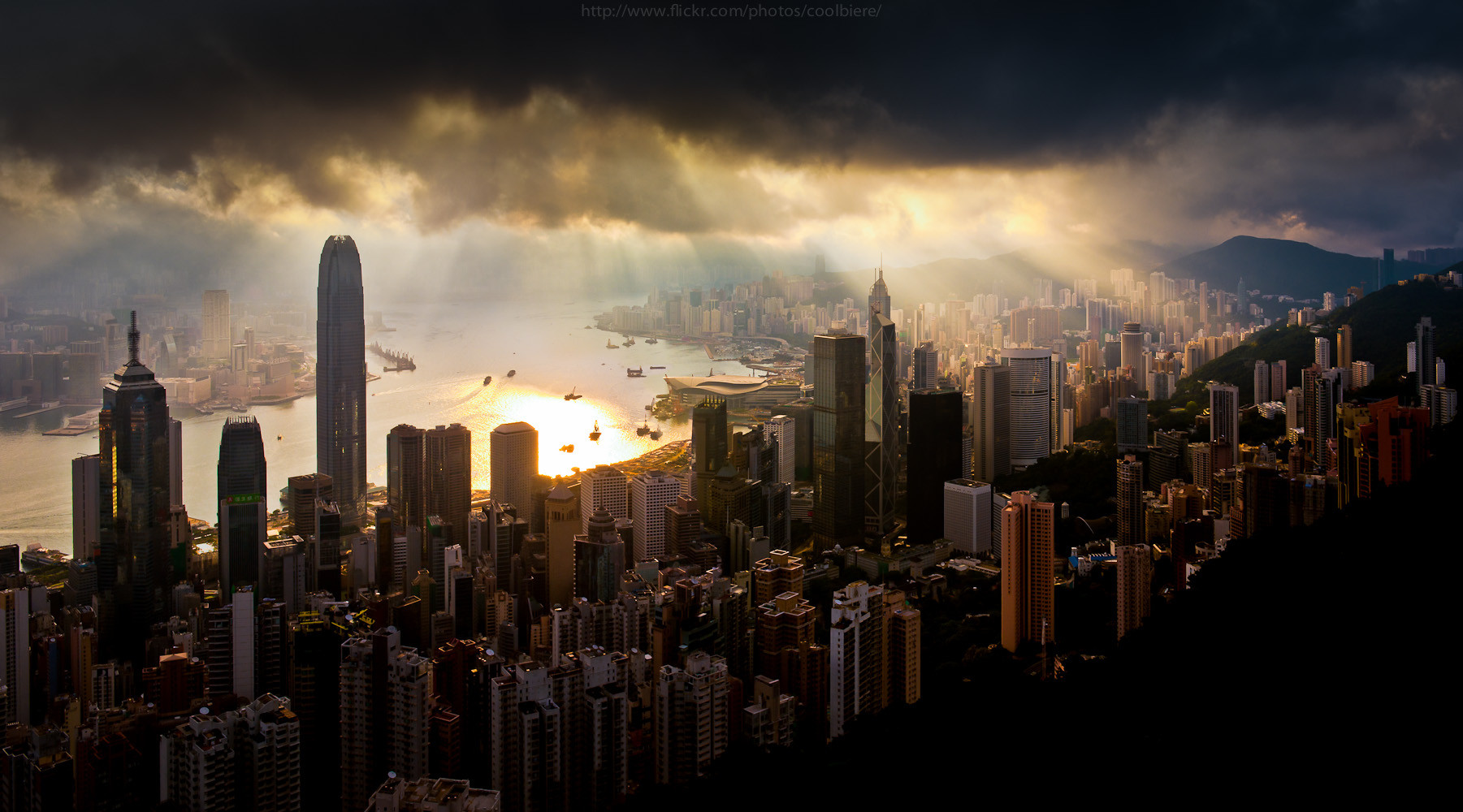 Hong Kong clouds
