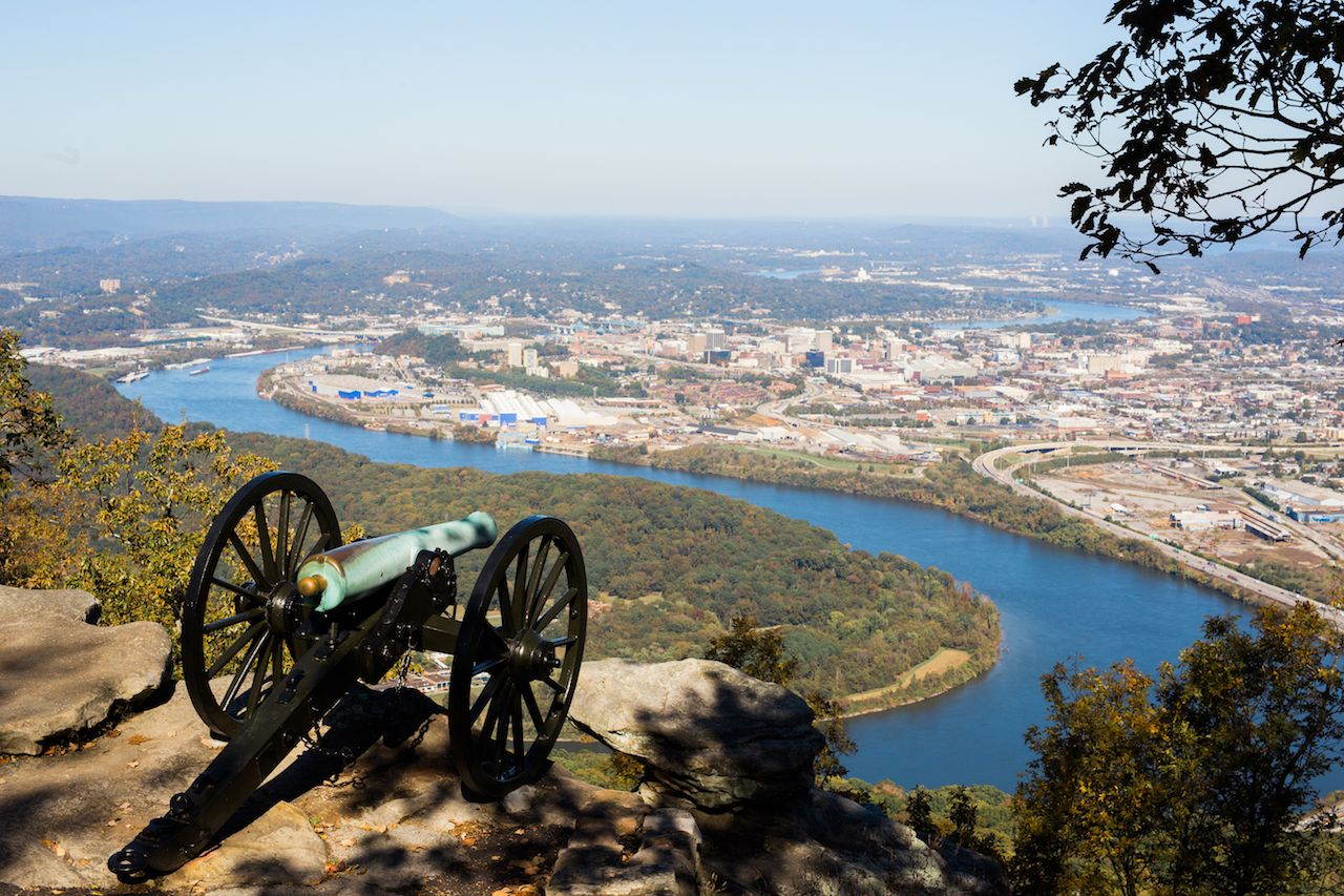 Chickamauga and Chattanooga National Military Park in Tennessee